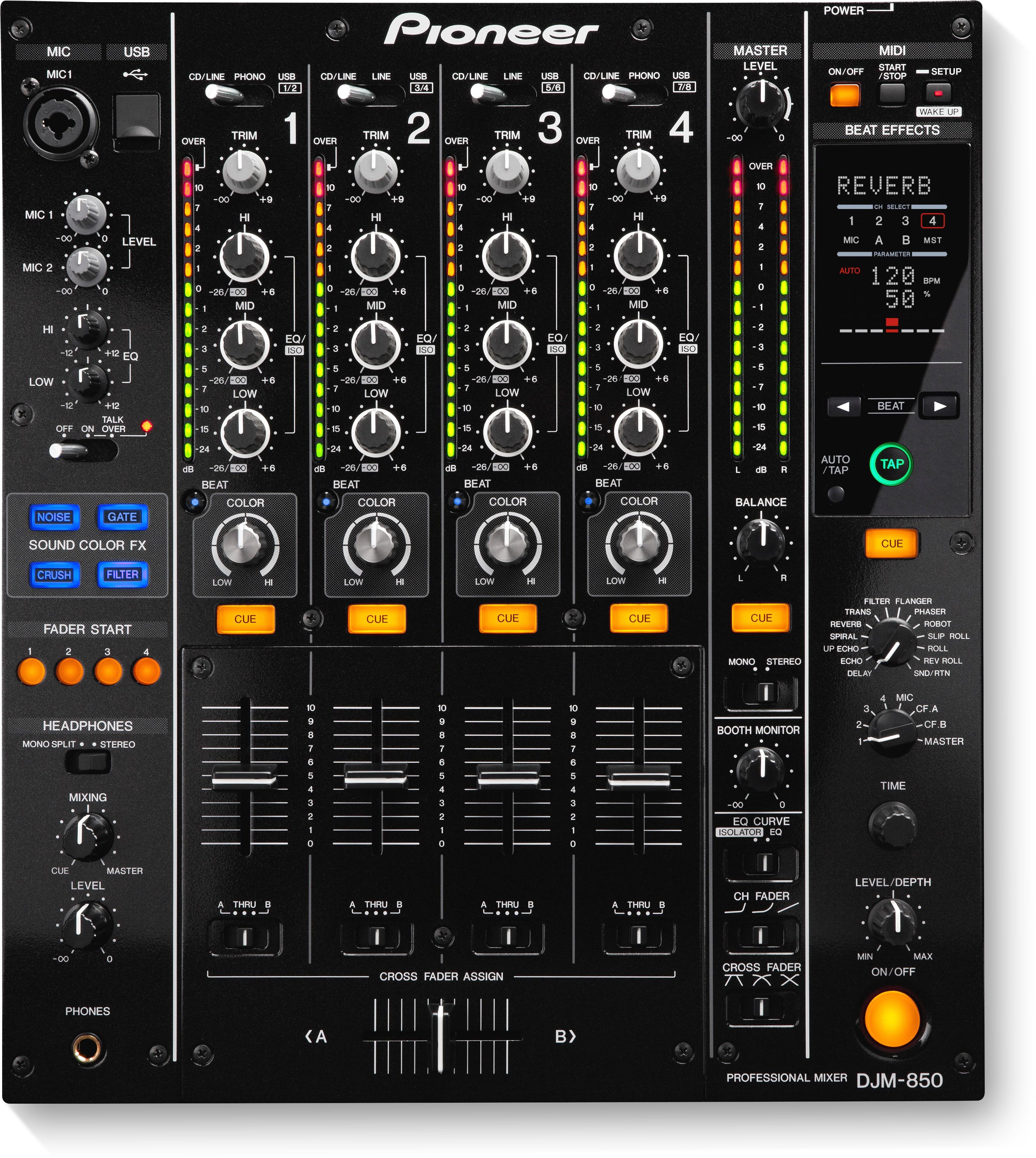 DJM-850 main