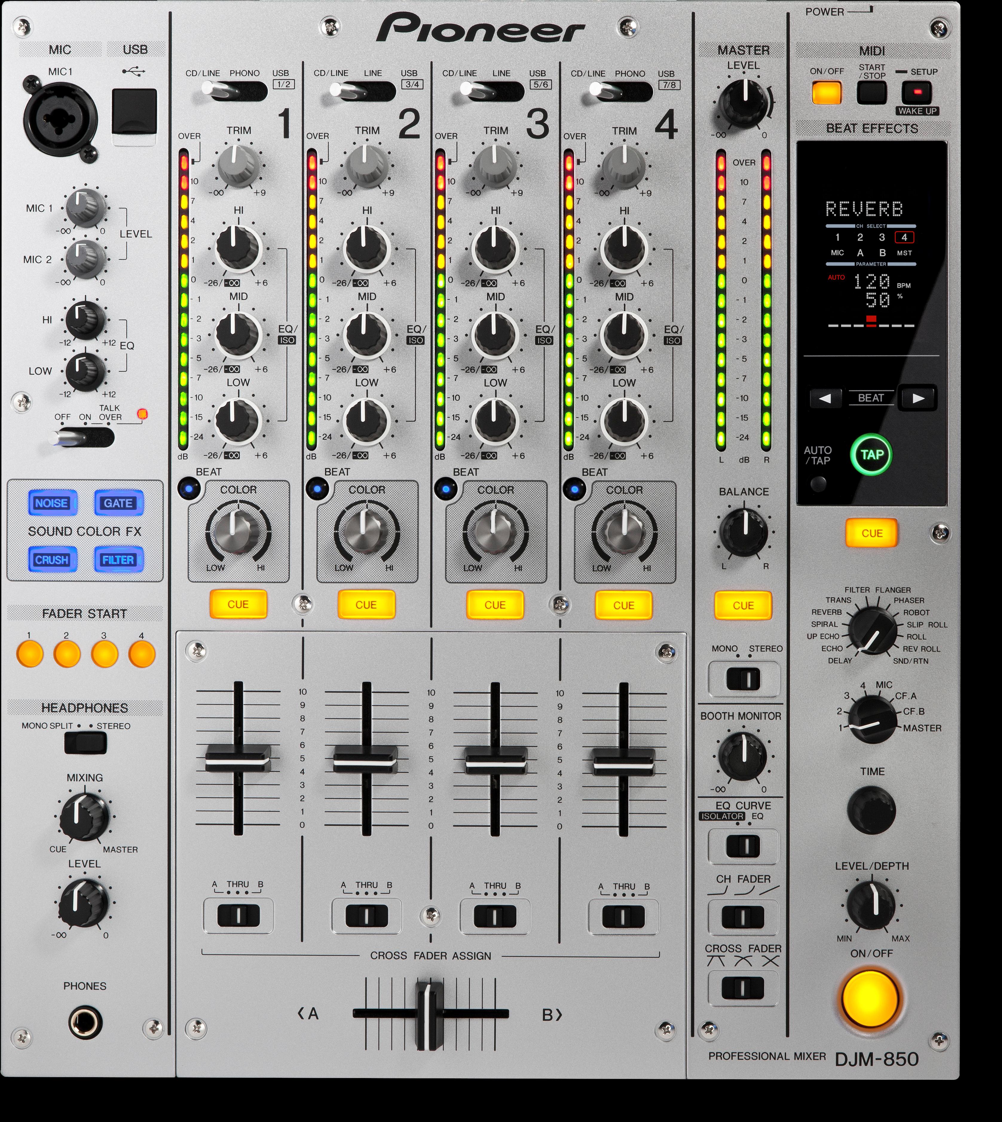 DJM-850-S main