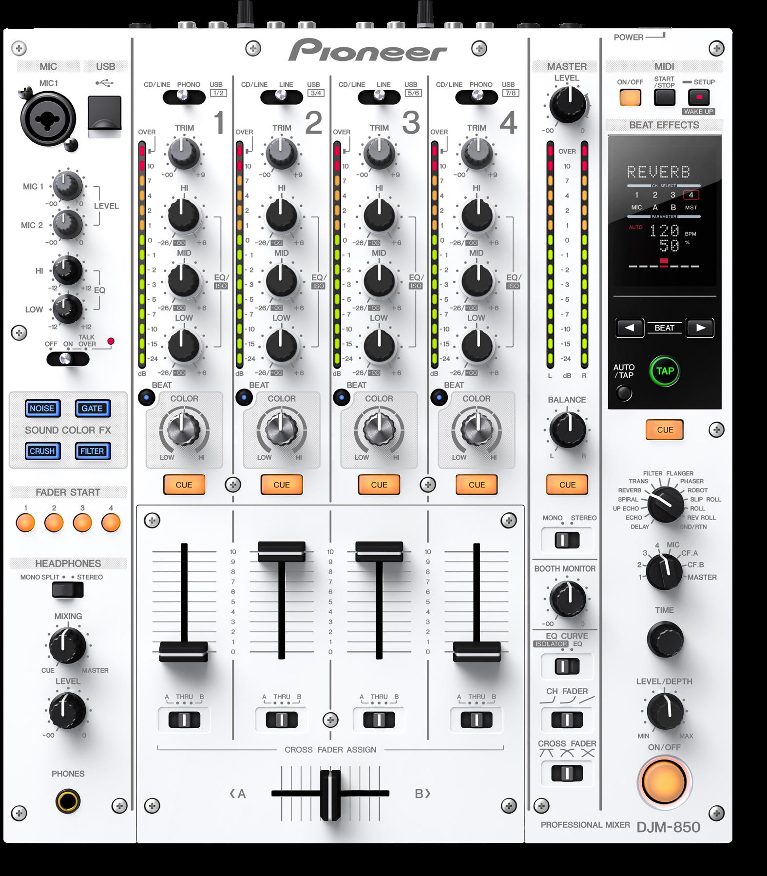 DJM-850-W