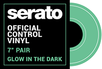 Official Glow in the Dark vinyl by Serato