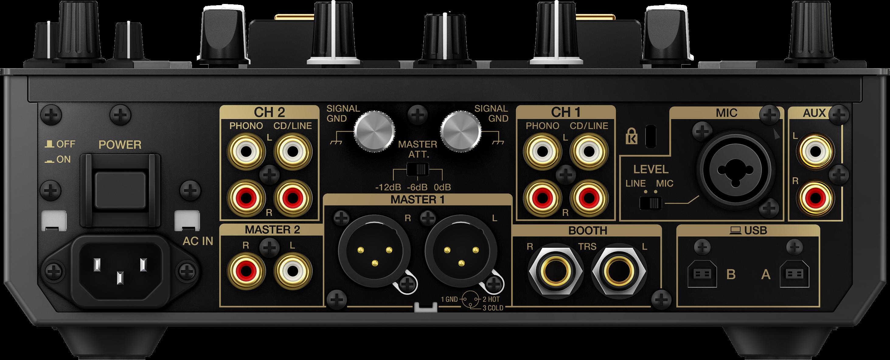 DJM-S9-N rear