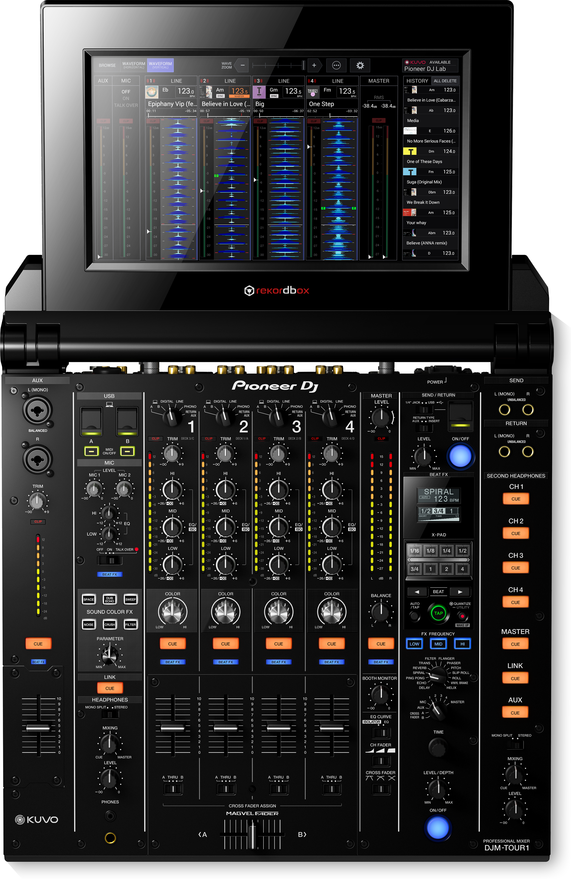 DJ mixers - Pioneer DJ - Global