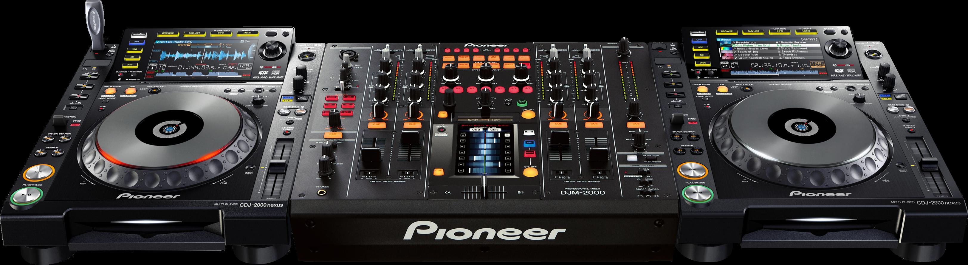 CDJ-2000NXS - DJM-2000