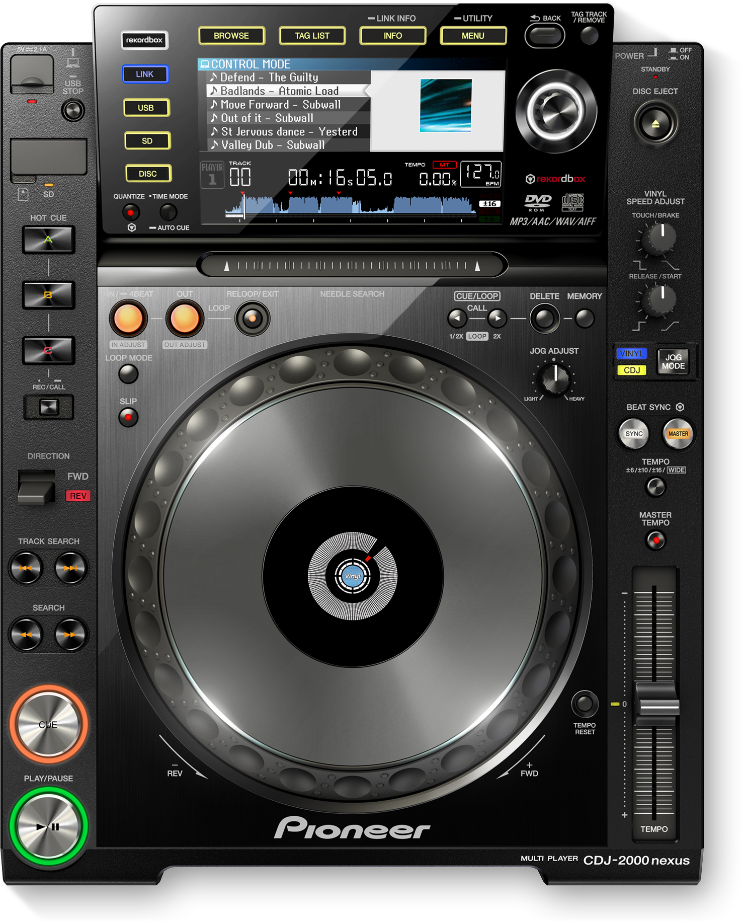 Download firmware or software for CDJ-2000NXS - Pioneer DJ