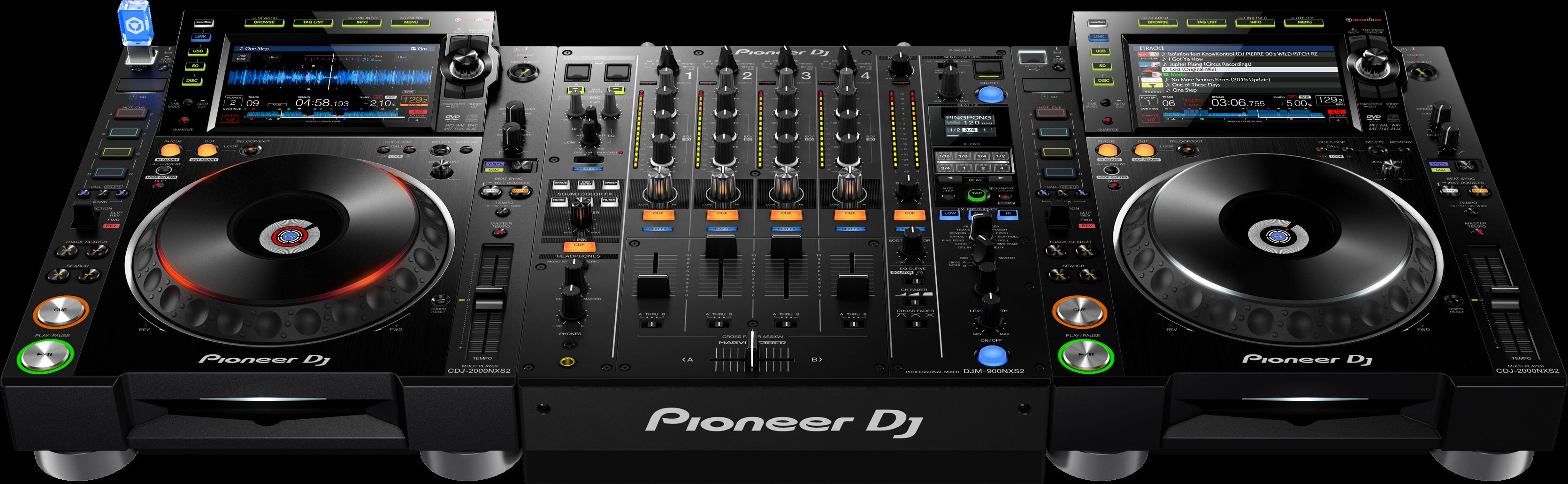 CDJ-2000NXS2 - DJM-900NXS2