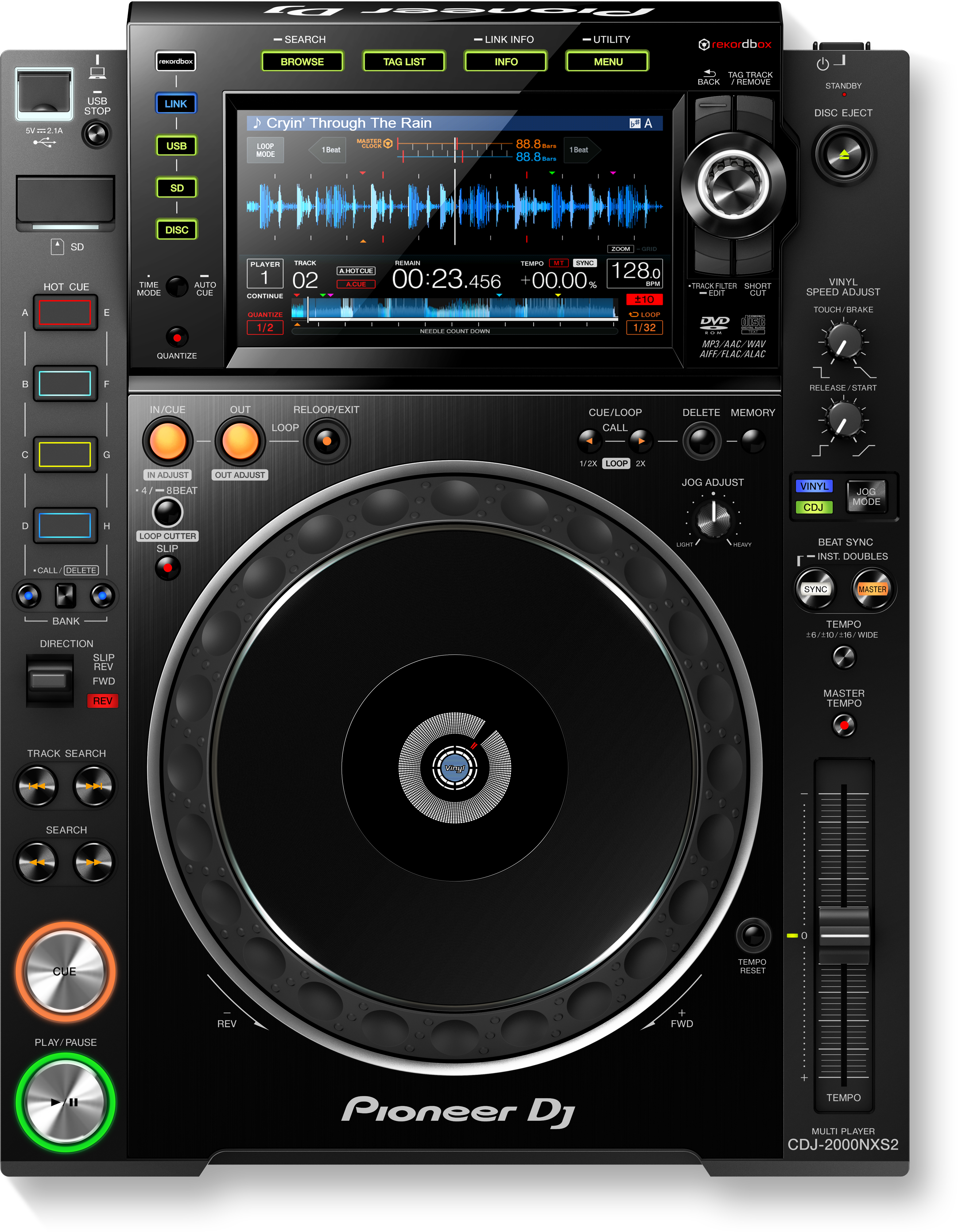 user manuals documentation for cdj 2000nxs2 pioneer dj global. Black Bedroom Furniture Sets. Home Design Ideas
