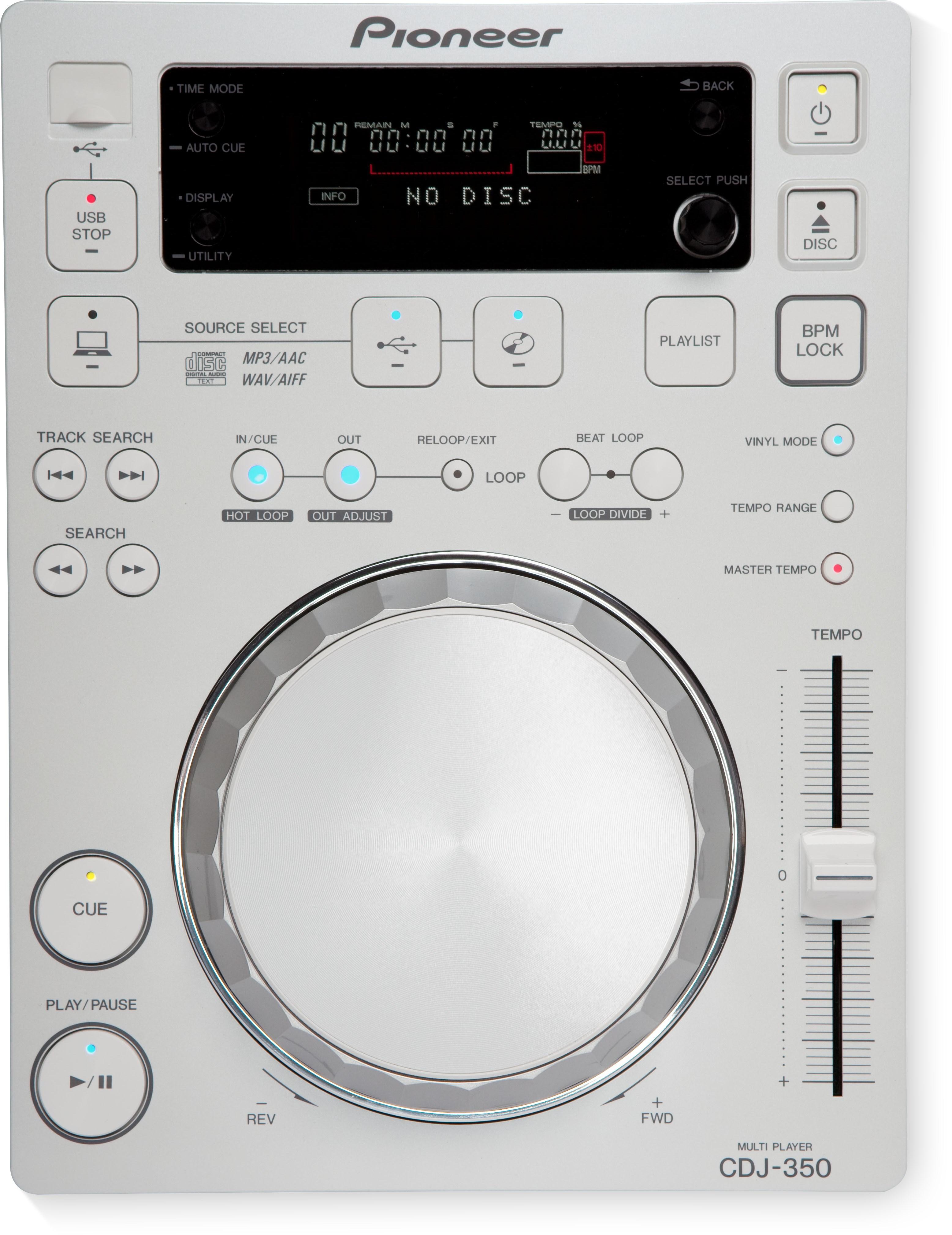 CDJ-350-W