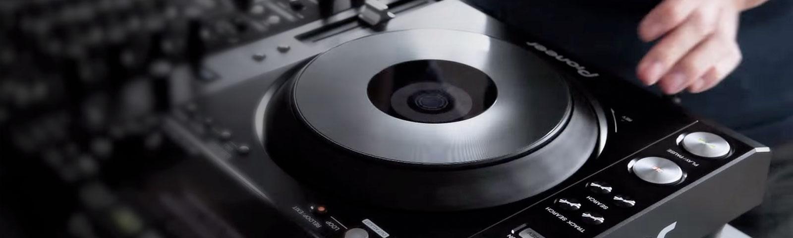 CDJ-850 header