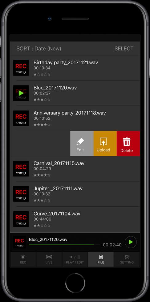 DJM-REC for iPhone