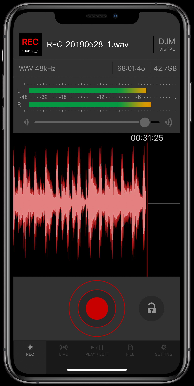 DJM-REC High-quality DJ mix recording app (DJ App) - Pioneer DJ