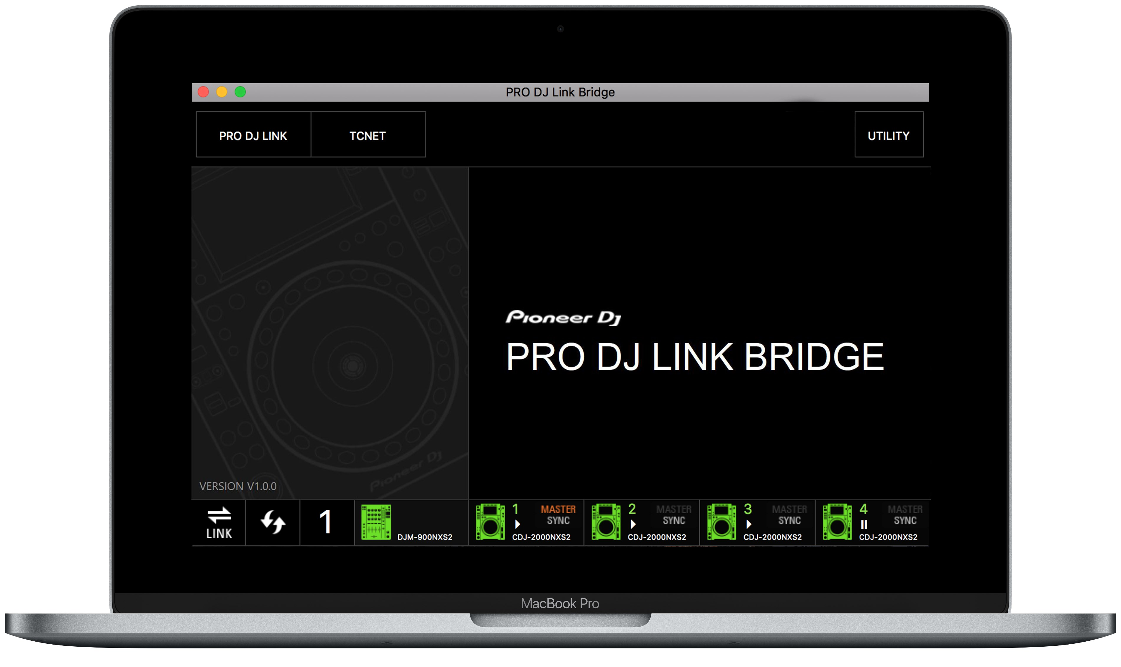 PRO DJ LINK Bridge