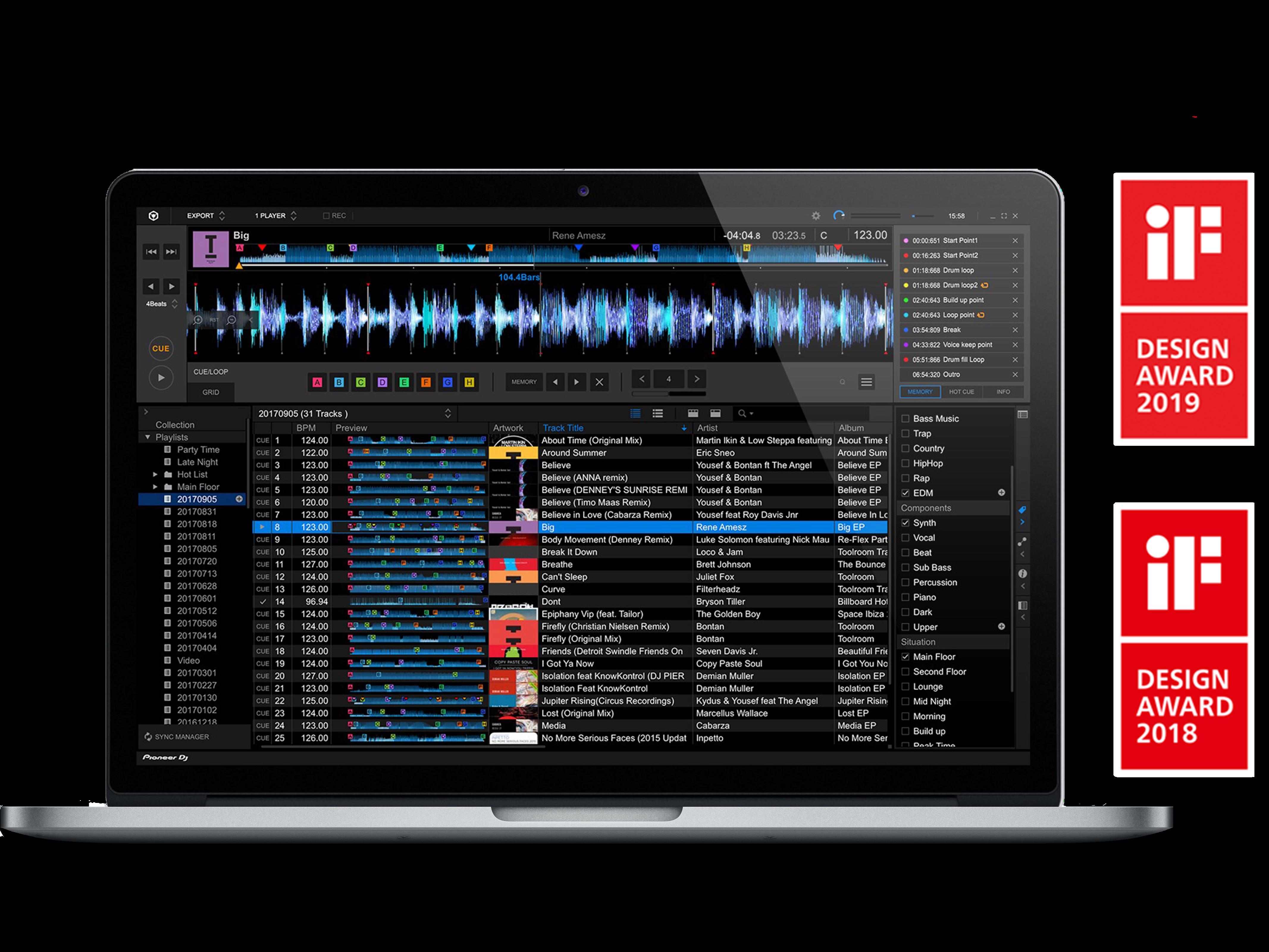 rekordbox Music management DJ software (software) - Pioneer DJ