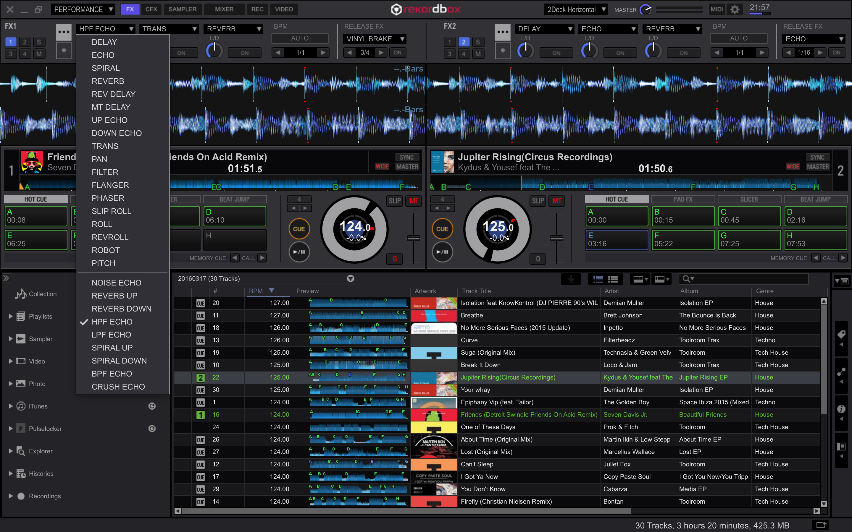RMX EFFECTS Plus Pack for rekordbox dj