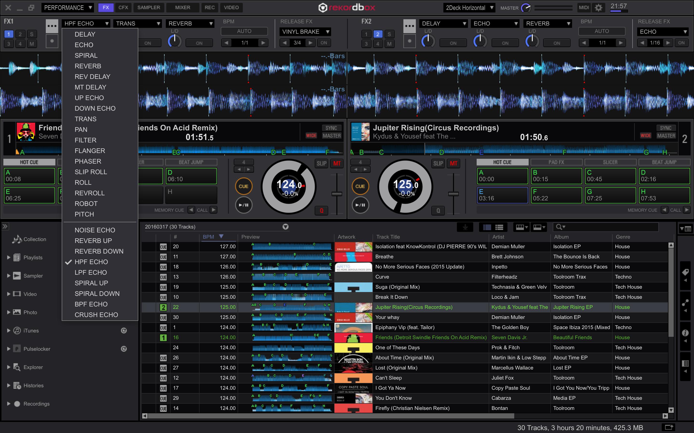RMX EFFECTS Plus Pack for rekordbox dj
