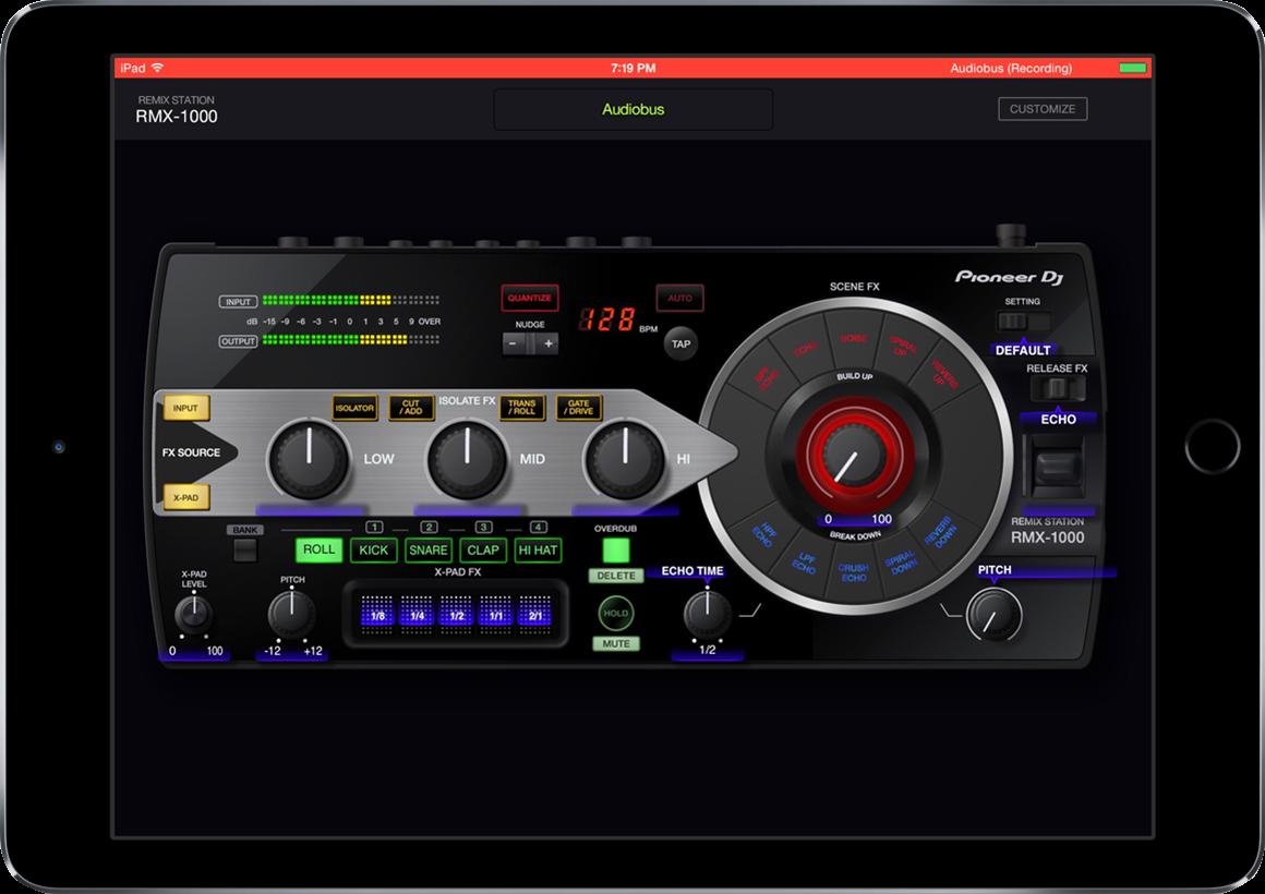 Audio Bus app