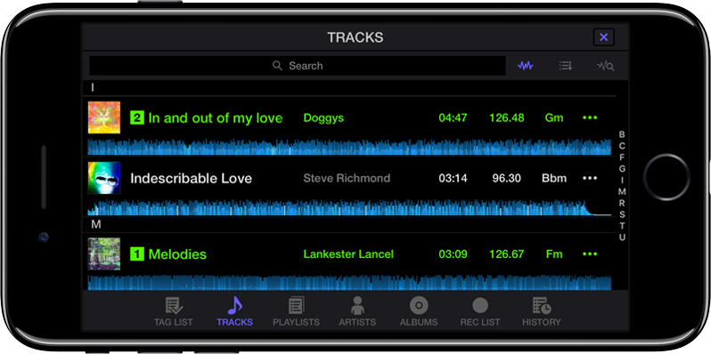 WeDJ for iPhone